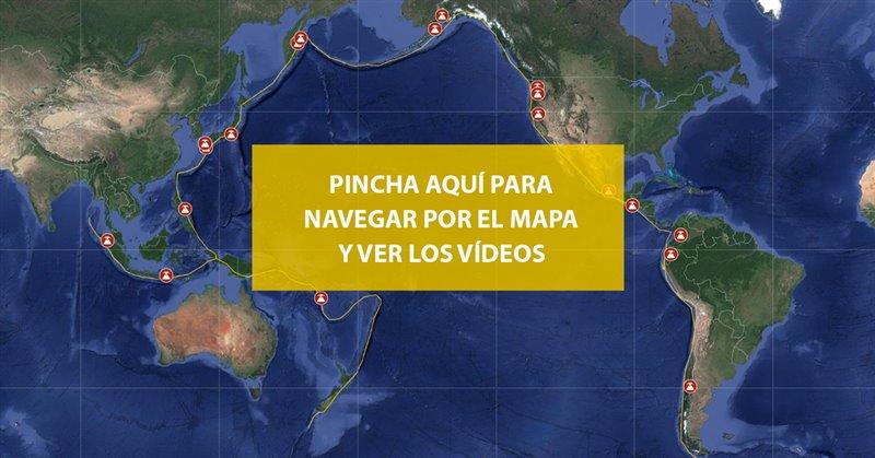 Explora el Cinturón de Fuego en este mapa interactivo