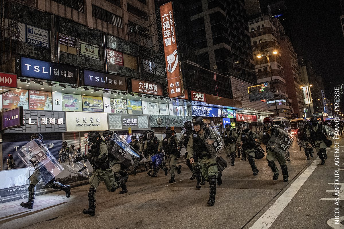 Hong Kong Unrest III (Los Disturbios de Hong Kong III)