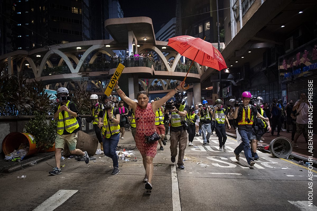 Hong Kong Unrest IV (Los Disturbios de Hong Kong IV)