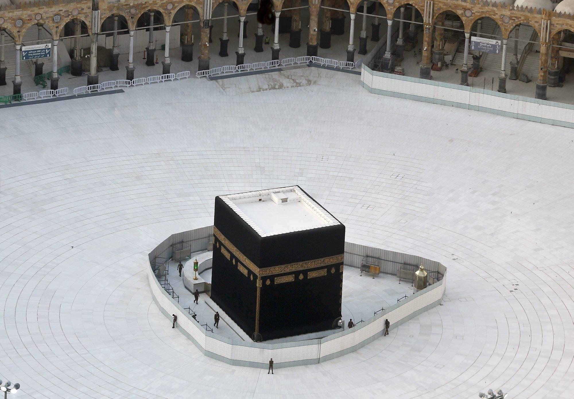 La Kaaba, La Meca. Arabia Saudí