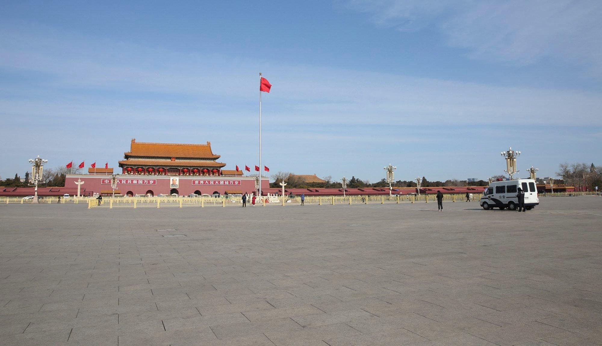 Plaza de Tiananmen, Pekín