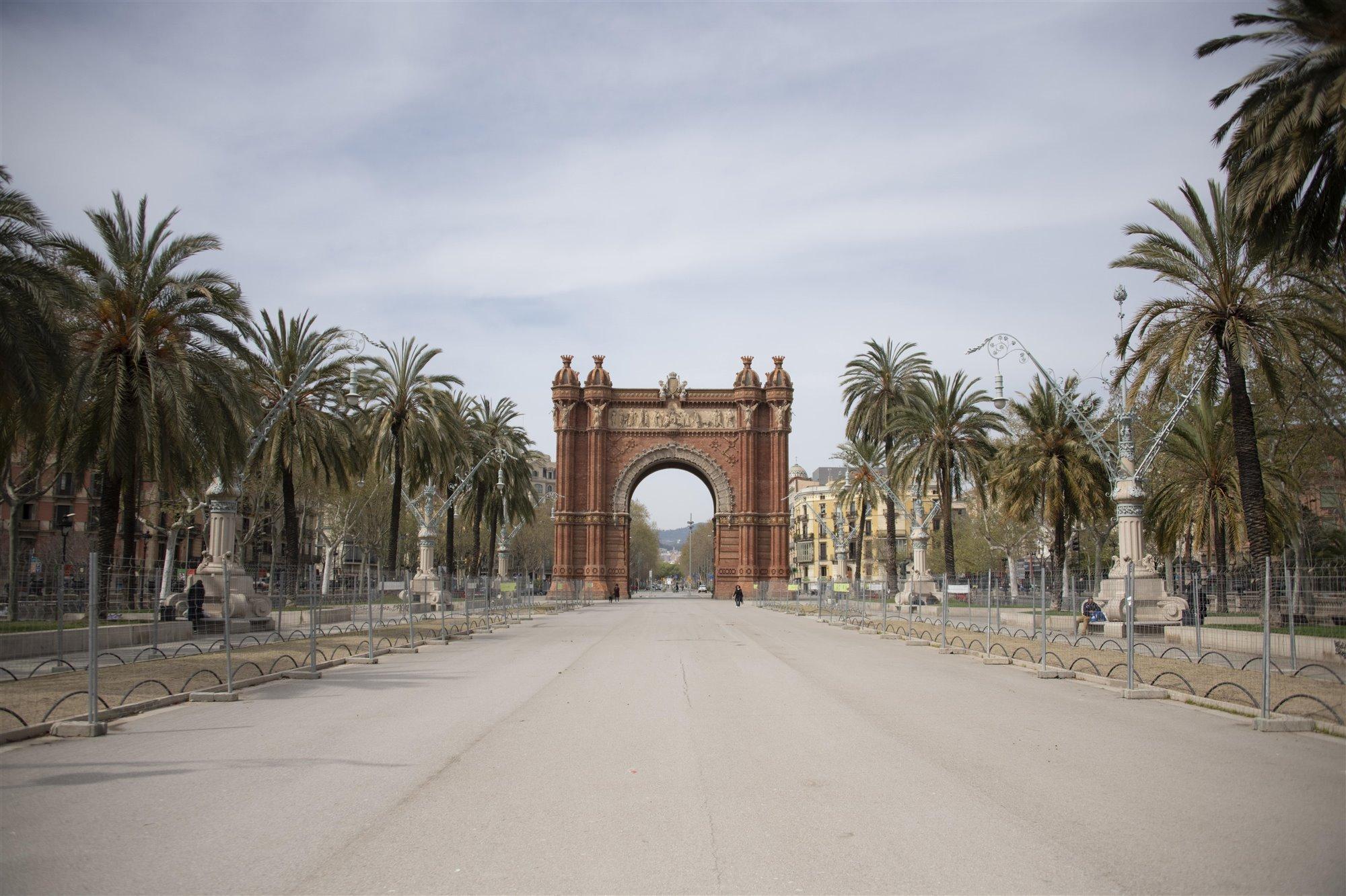Arco del Triunfo, Barcelona, España.