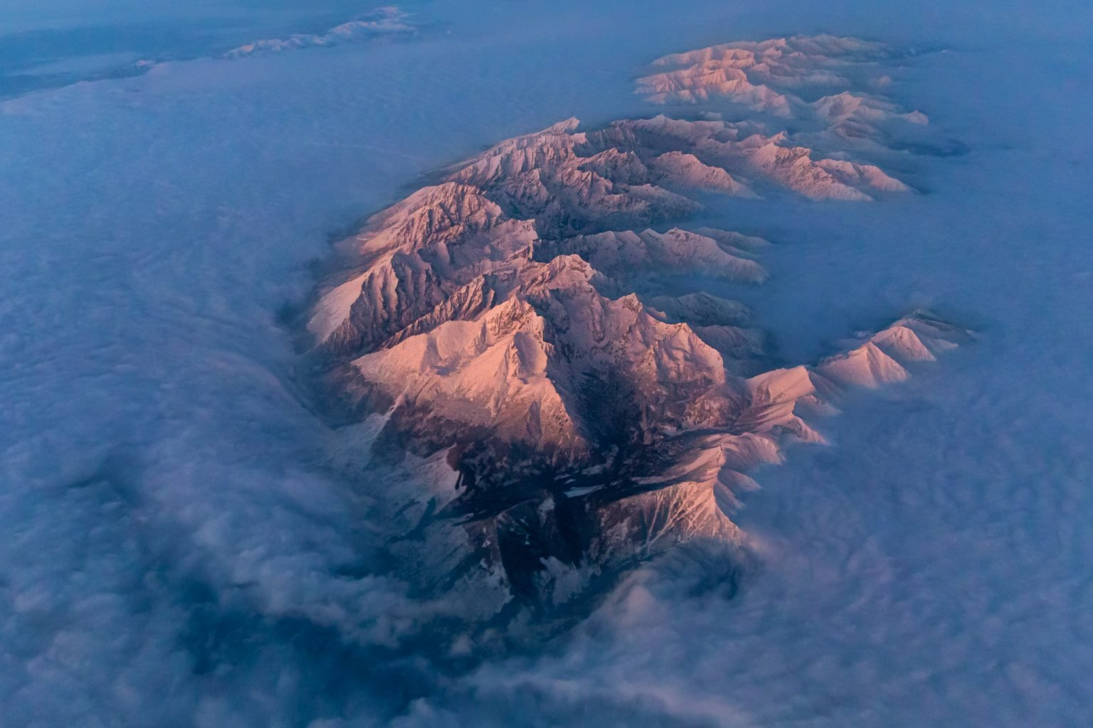 Tatry mountains in the clouds