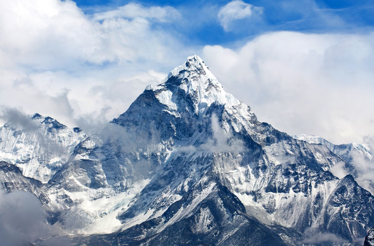 Monte Everest (8.848 metros): Asia