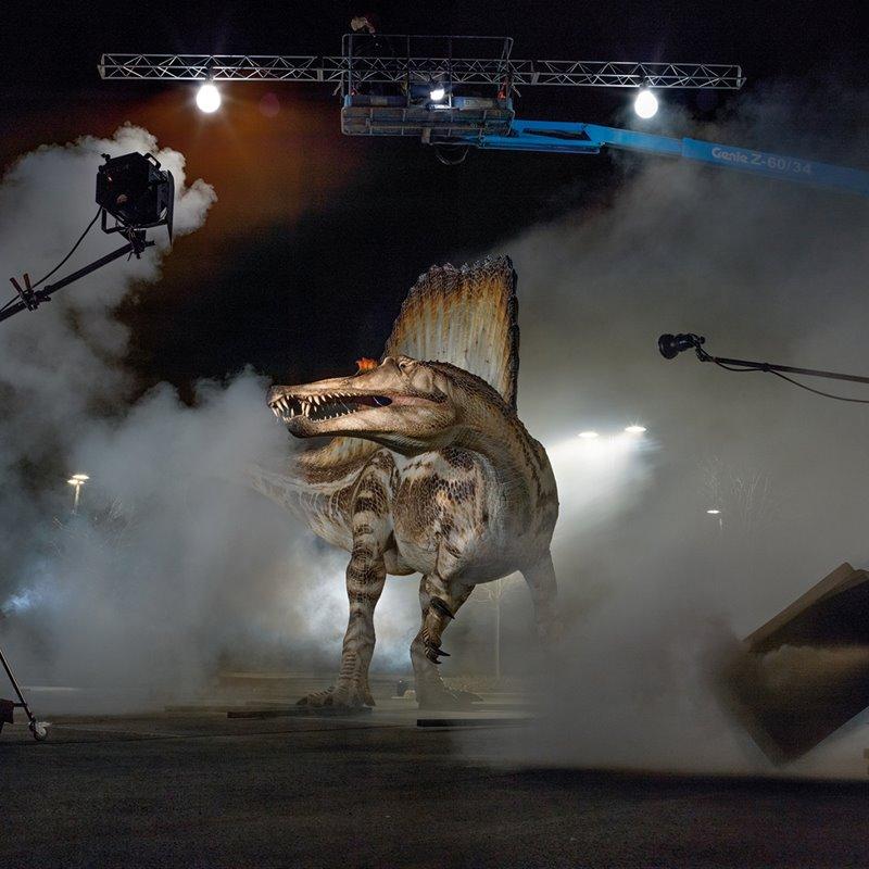 Mister Big, en busca del Spinosaurus