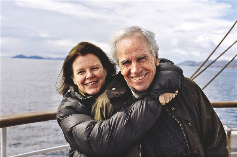 Doug Tompkins, marido y socio de Kris (junto a ella en esta foto de 2010) murió en 2015 en un accidente de kayak.