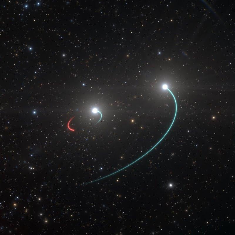 Descubierto el agujero negro más cercano al Sistema Solar