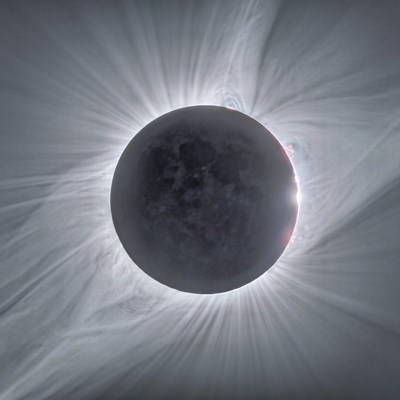 Nanollamaradas magnéticas: los secretos de la corona solar