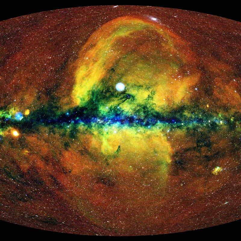 Así es el nuevo mapa más completo del Universo en rayos X