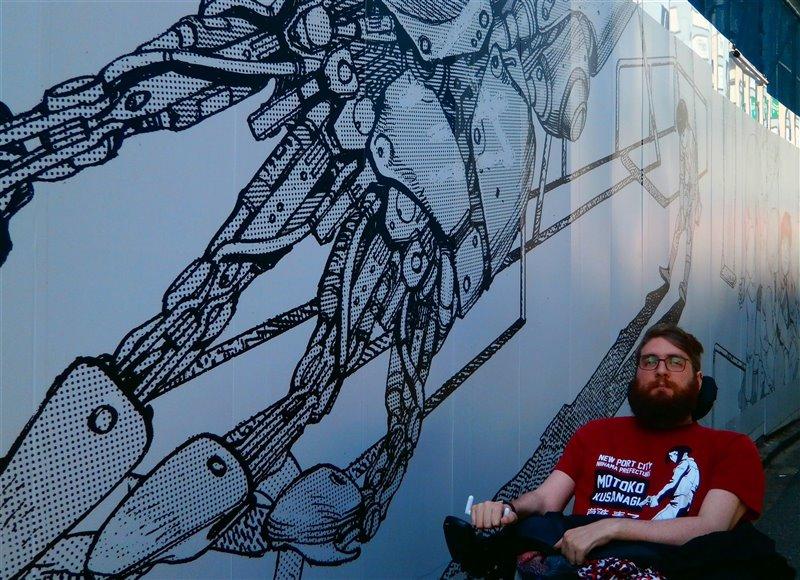 Nathan copeland, en las instalaciones del Instituto del Cerebro de la Universidad de Pittsburgh