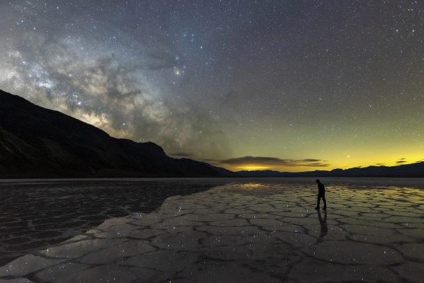 Milky Way Reflections in Death Valley
