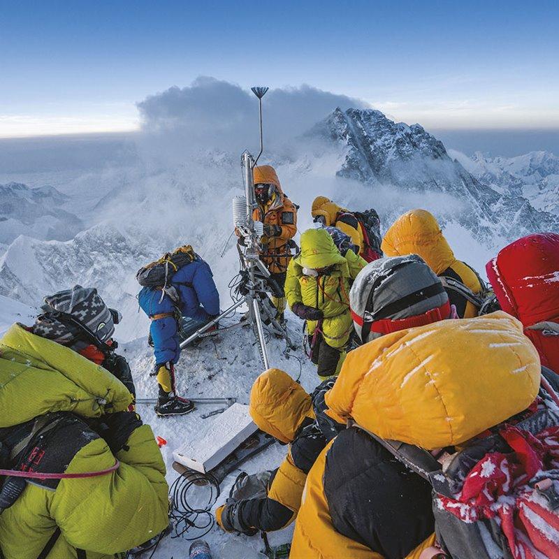 Partida hacia el Everest