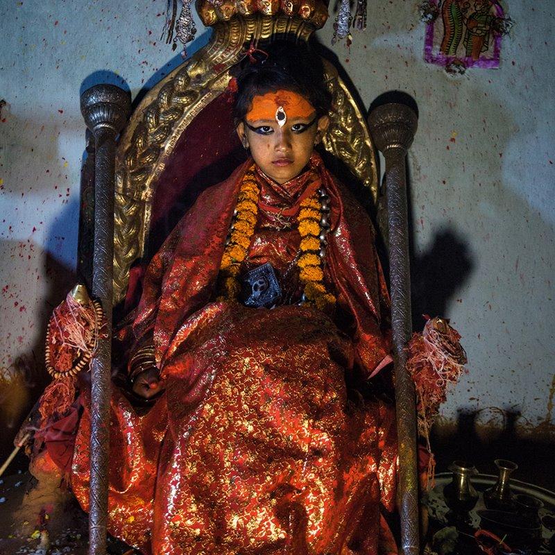 Kumaris, las diosas vivientes de Nepal