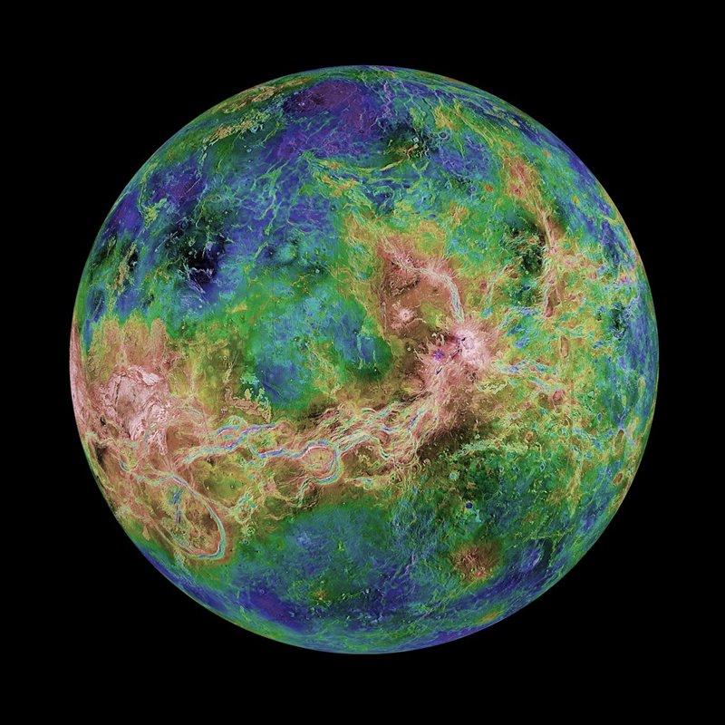 Astrónomos podrían haber encontrado una forma de vida en Venus