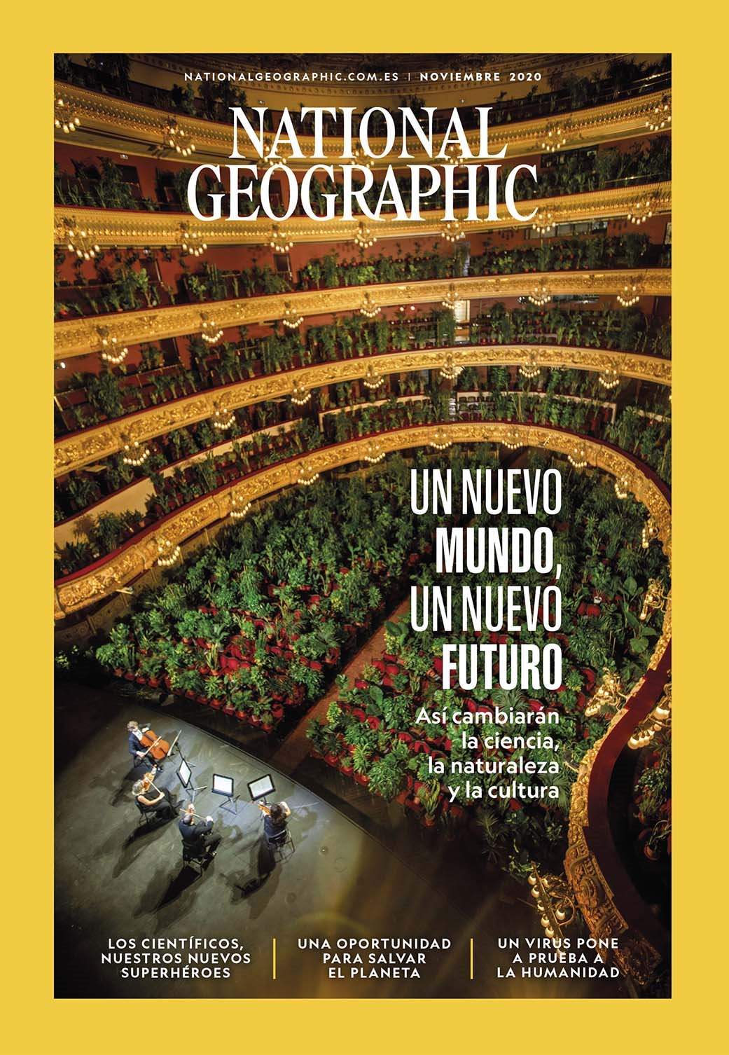 National Geographic Noviembre 2020