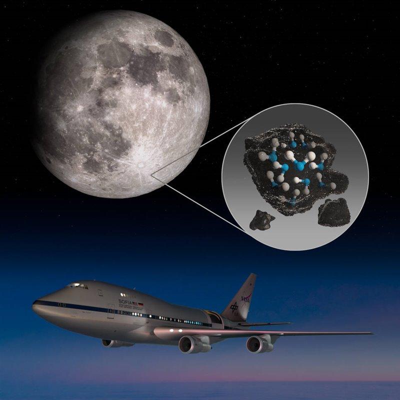 La NASA confirma que en la Luna hay más agua de la que se creía