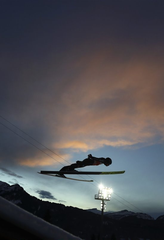 4 Hills Sky Jumping Tournament. Oberstdorf, Alemania
