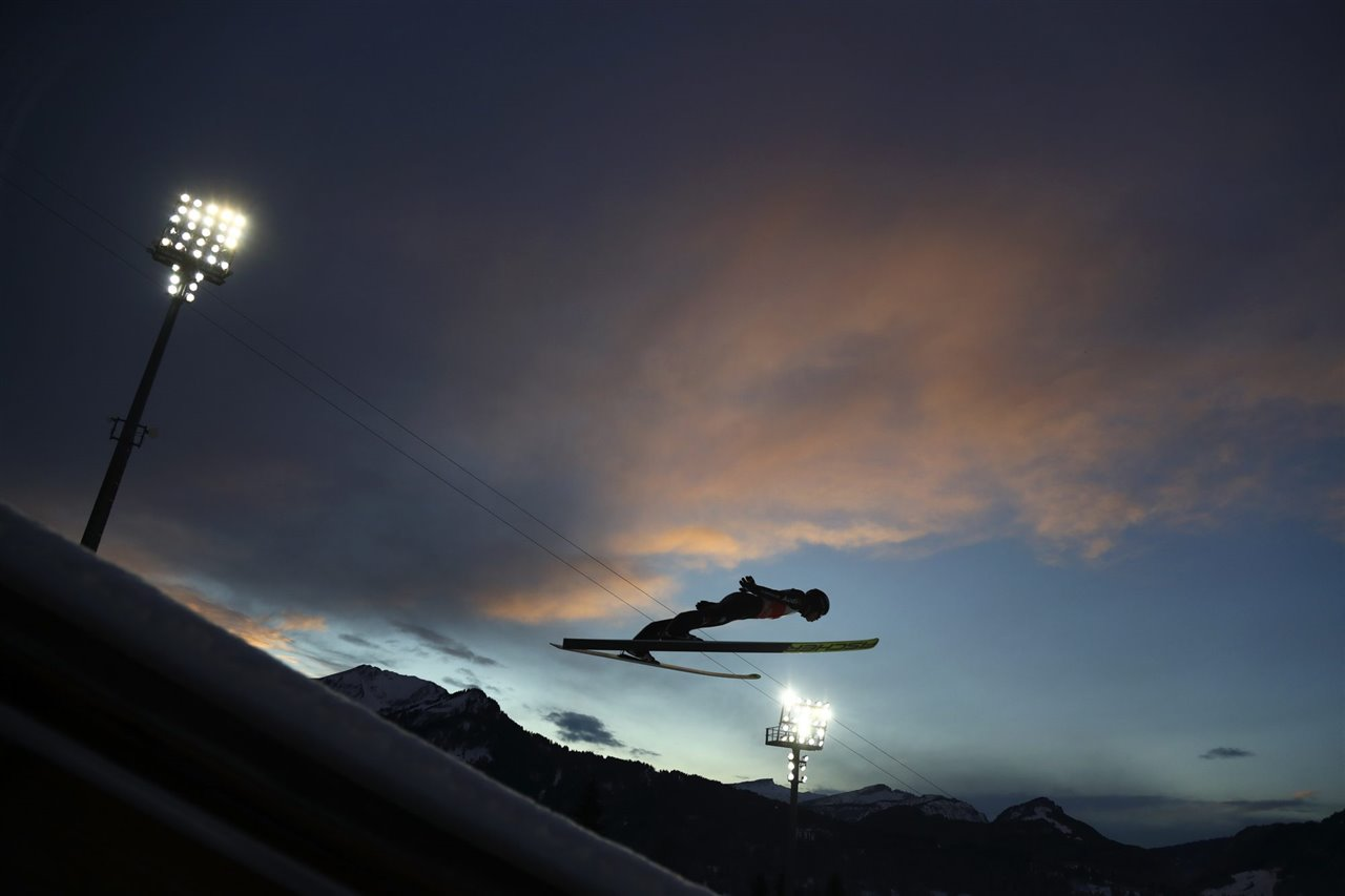 4 Hills Ski Jumping Tournament. Oberstdorf, Alemania