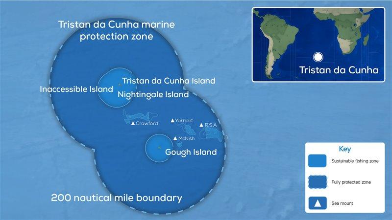 Mapa del nuevo área protegida
