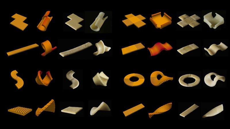 Pasta plana en 2D para envases alimentarios sostenibles