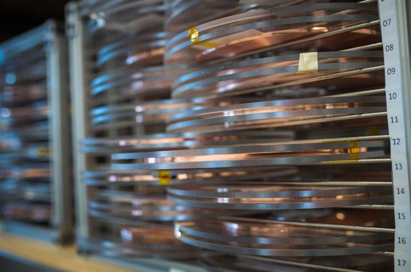 Carrete de cinta superconductora de alta temperatura utilizado en la nueva clase de imán de fusión.