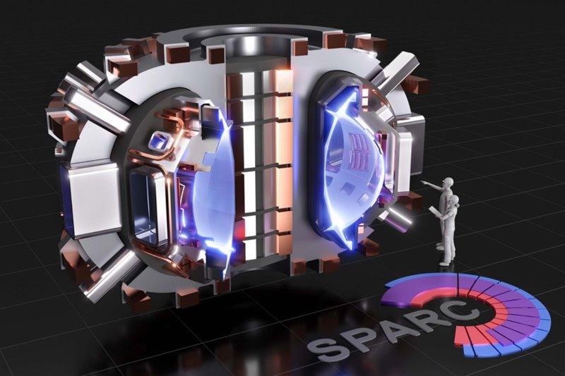 Representación de SPARC, un tokamak compacto de alto campo, actualmente en proceso de diseño