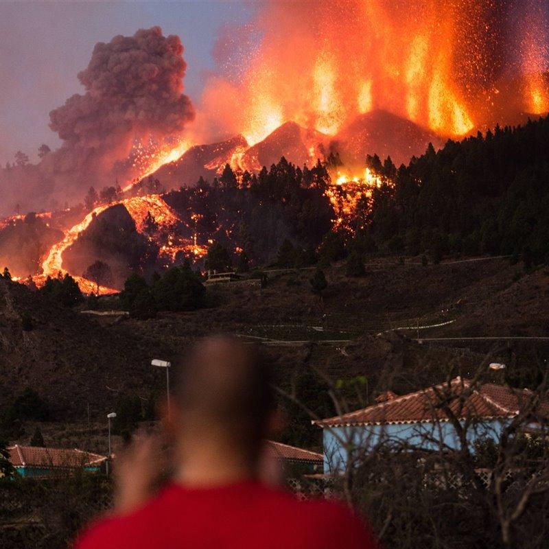 La erupción del volcán de La Palma en directo